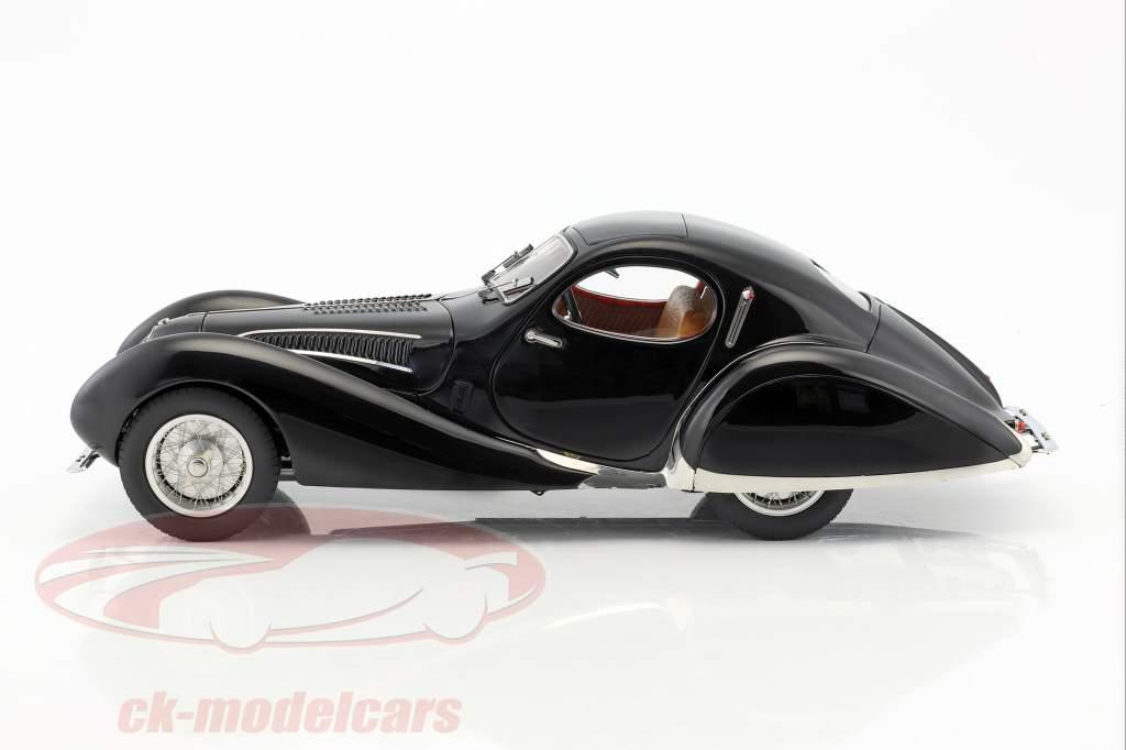 Talbot Lago Coupe T150 C-SS Teardrop Figoni & Falaschi Baujahr 1937-1939 schwarz 1:18 CMC