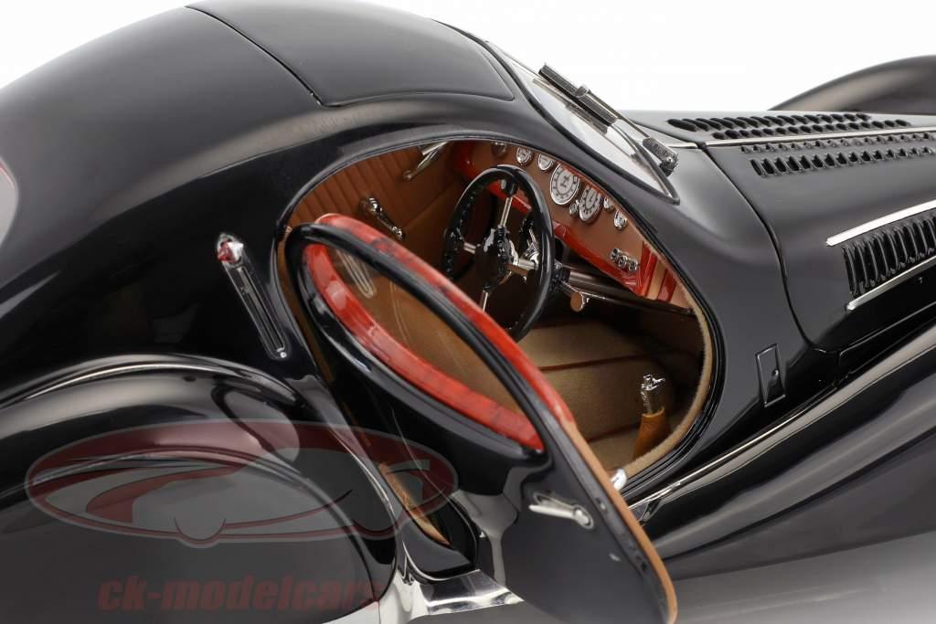 Talbot Lago coupe T150 C-SS Teardrop Figoni & Falaschi anno di costruzione 1937-1939 nero 1:18 CMC