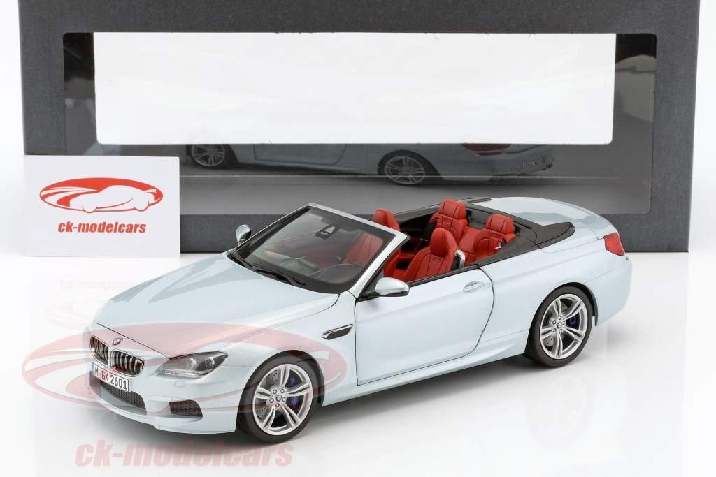 BMW M6 Convertible Silverstone II Silver 1:18 Paragon Models