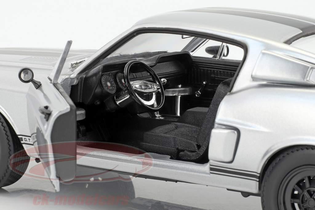 Shelby GT-500KR anno di costruzione 1968 tappetino cromo 1:18 Lucky DieCast