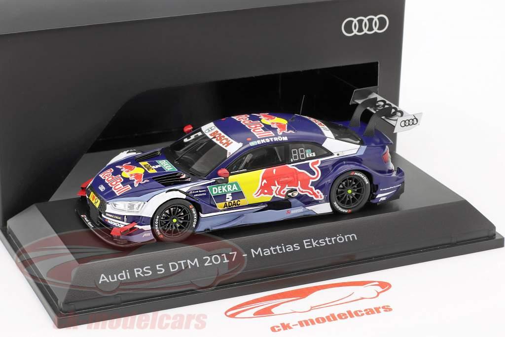 Audi RS5 #5 DTM 2017 Mattias Ekström 1:43 Spark
