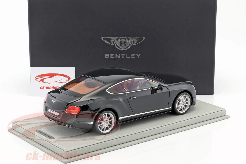 Bentley Continental GT V8 S dunkelgrau metallic 1:18 BBR