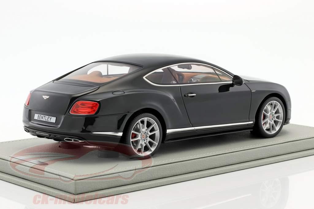 Bentley Continental GT V8 S dark gray metallic 1:18 BBR