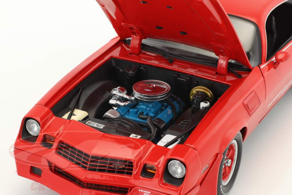 Chevrolet Z28 Yenko Turbo Z year 1981 red 1:18 Greenlight