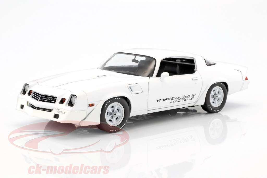 Chevrolet Z28 Yenko Turbo Z Baujahr 1981 weiß 1:18 Greenlight