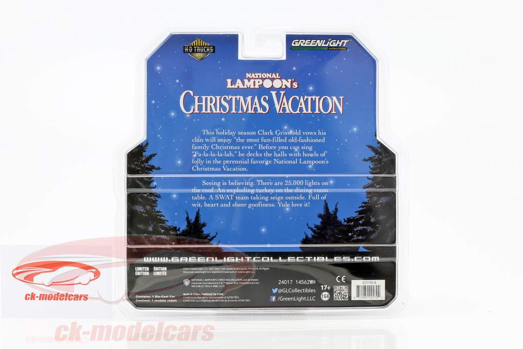 Condor II RV année de construction 1972 film National Lampoon's Christmas Vacation (1989) 1:64 Greenlight