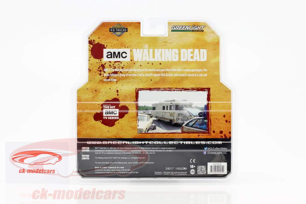 Dales Winnebago Chieftain Baujahr 1973 TV-Serie The Walking Dead (2010-2015) beige 1:64 Greenlight