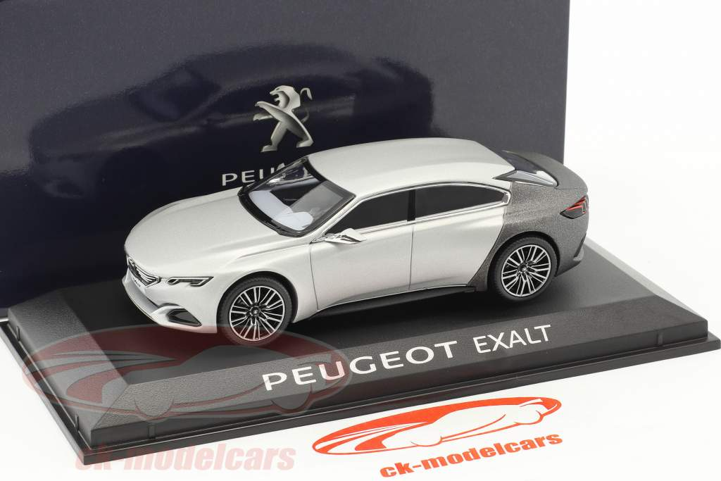 Peugeot Exalt Concept Car Salon de Paris 2014 silver / Gray 1:43 Norev