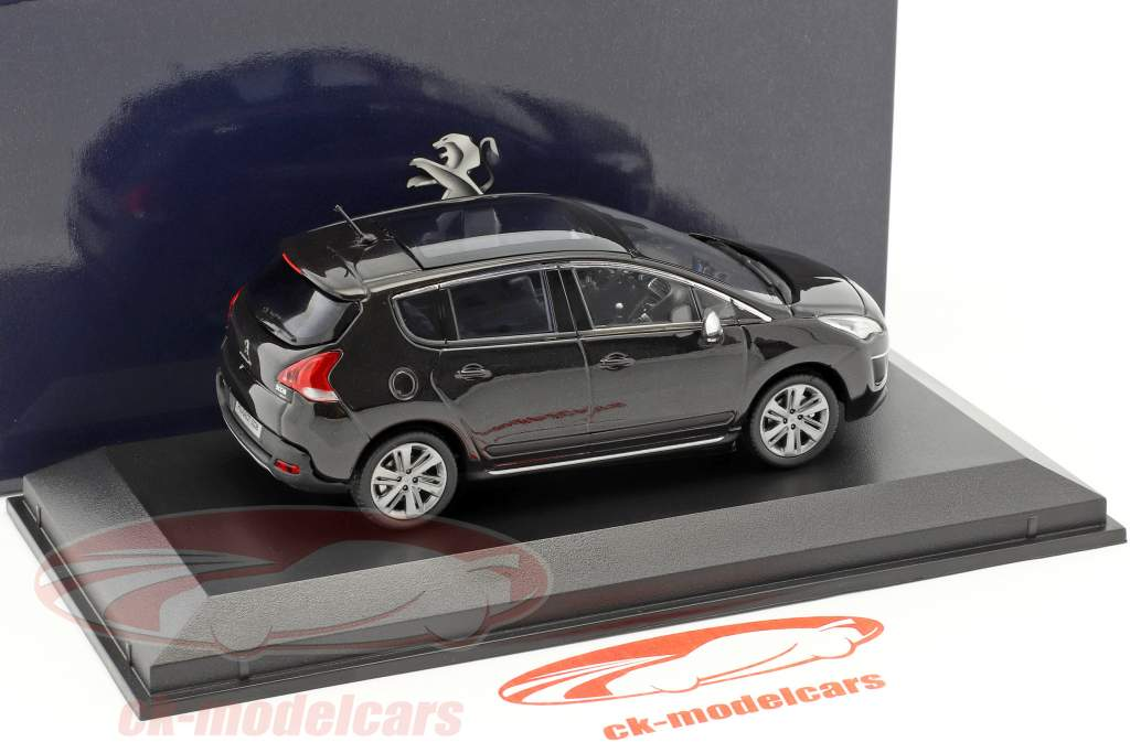 Peugeot 3008 year 2013 black 1:43 Norev