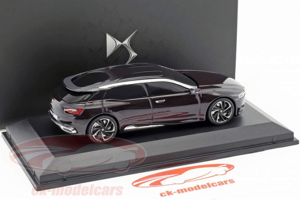 Citroen Numero 9 Concept Car Baujahr 2012 dunkellila metallic 1:43 Norev