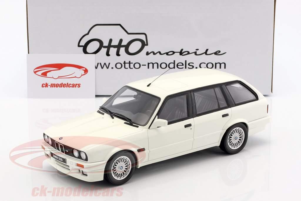 BMW E30 Touring M Pack Baujahr 1991 alpinweiß 1:18 OttOmobile