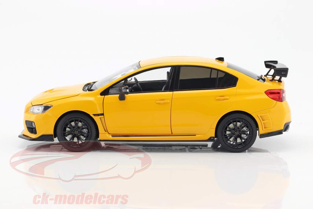 Subaru S207 NBR Challenge Package year 2015 yellow 1:18 SunStar