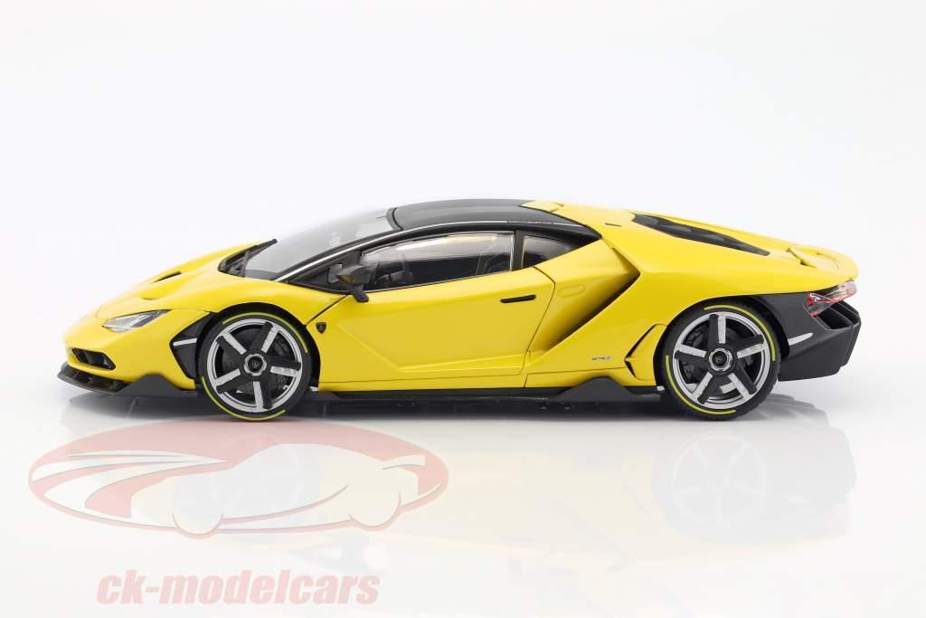 Lamborghini Centenario year 2016 yellow 1:18 Maisto