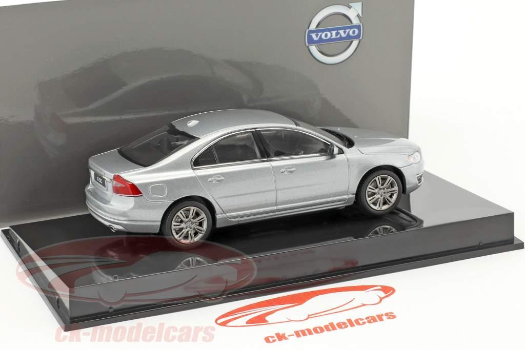 Volvo S80 anno di costruzione 2015 elettrico argento 1:43 Norev