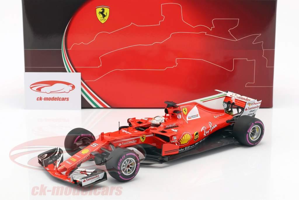 Sebastian Vettel Ferrari SF70H #5 Winner Australien GP Formel 1 2017 1:18 BBR