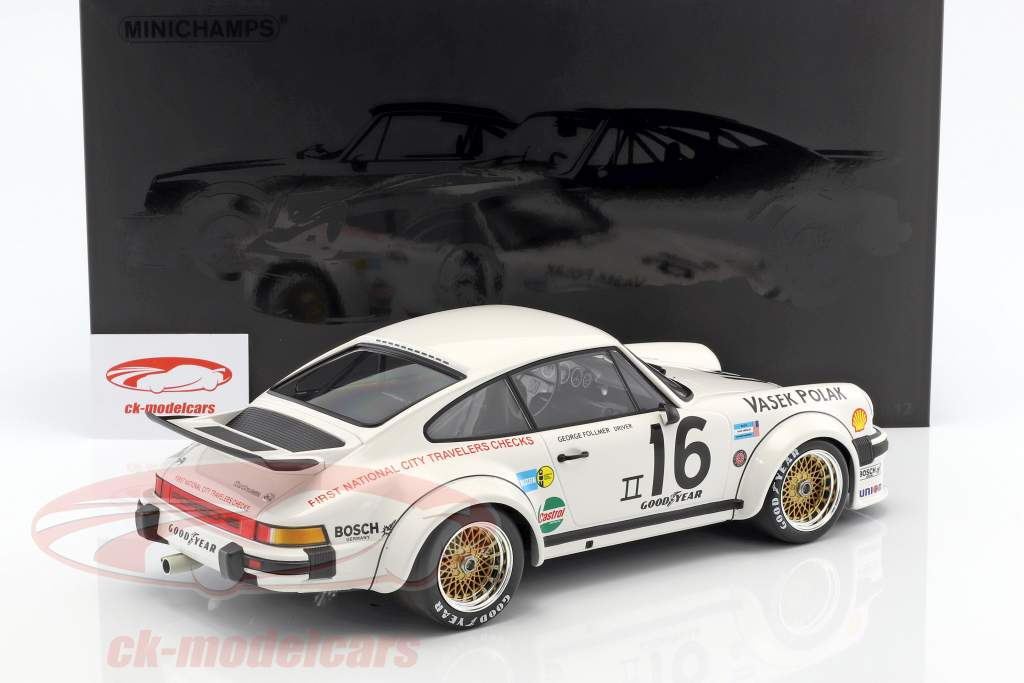 Porsche 934 #16 Trans-Am Champion 1976 Follmer 1:12 Minichamps