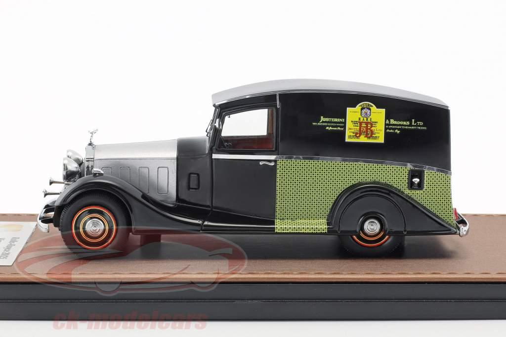 Rolls Royce 20/25 Vincent Van J&B year 1933 black / silver / green 1:43 GLM