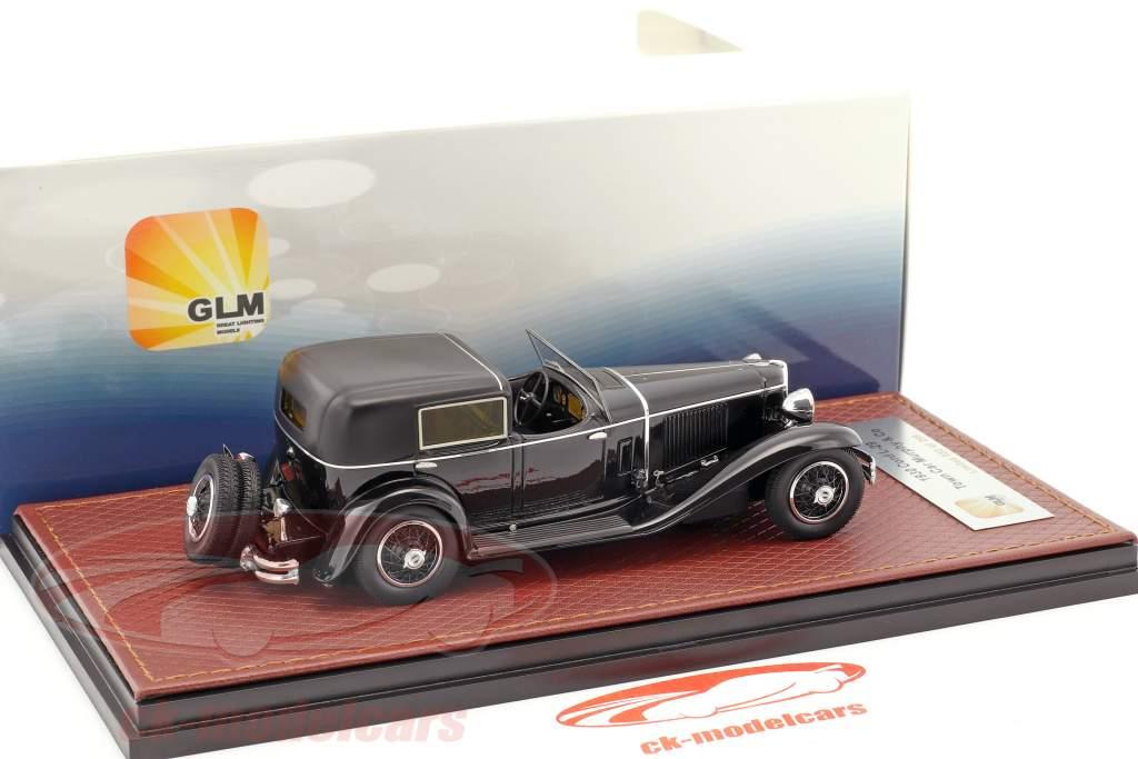 Cord L-29 Town Car Murphy & Co année de construction 1930 noir 1:43 GLM