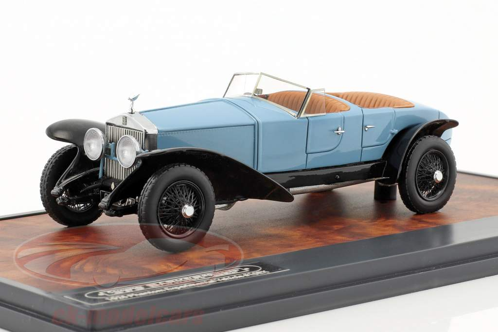 Phantom Experimental Vehicle #10EX année de construction 1926 bleu clair / noir 1:43 Matrix