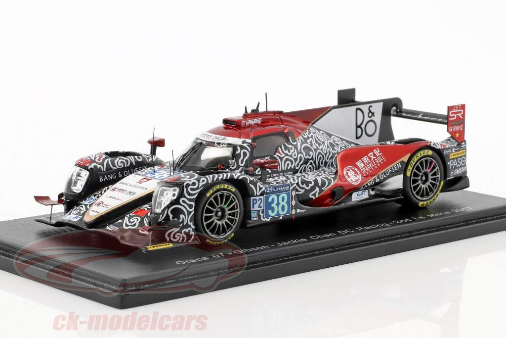 Oreca 07 #38 Winner LMP2 Class 2nd 24h LeMans 2017 Tung, Laurent, Jarvis 1:43 Spark