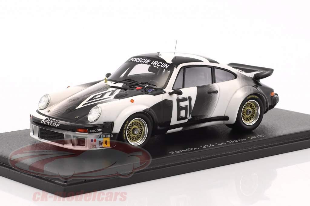 Porsche 934 #61 24h LeMans 1978 Chasseuil, Lefebvre 1:43 Spark