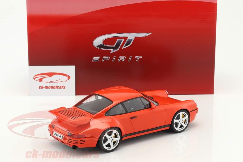 Porsche 911 (964) RUF SCR 4.2 blood orange 1:18 GT-Spirit