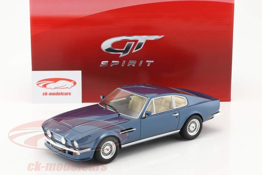 Aston Martin V8 Vantage V580 X-Pack blue 1:18 GT-Spirit
