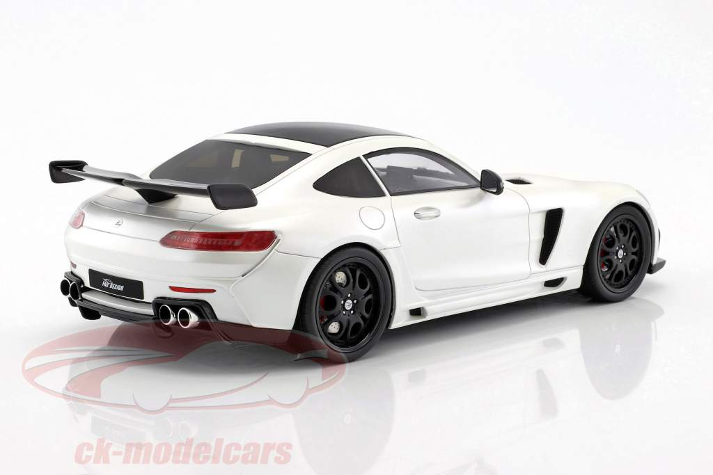 Mercedes-Benz AMG GT FAB Design Areion white / black 1:18 GT-Spirit