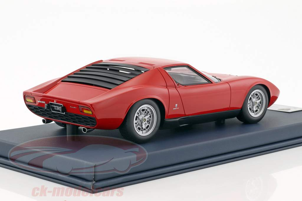 Lamborghini Miura P400 Paris Motorshow 1966 50th Anniversary 1966-2016 red 1:18 LookSmart