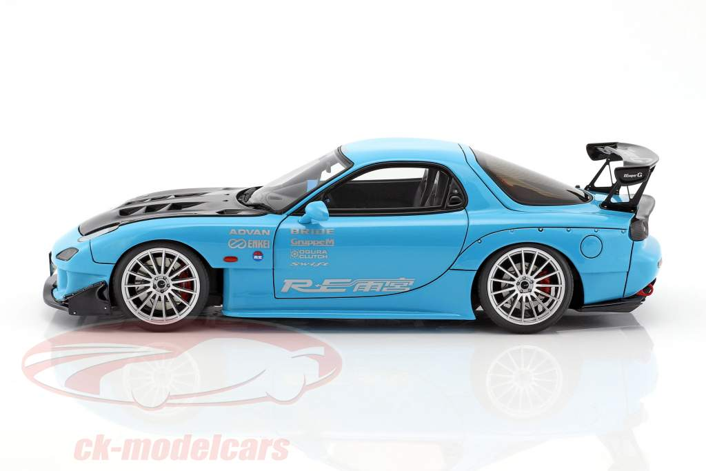 Mazda RX-7 (FD3S) RE Amemiya hellblau 1:18 Ignition Model
