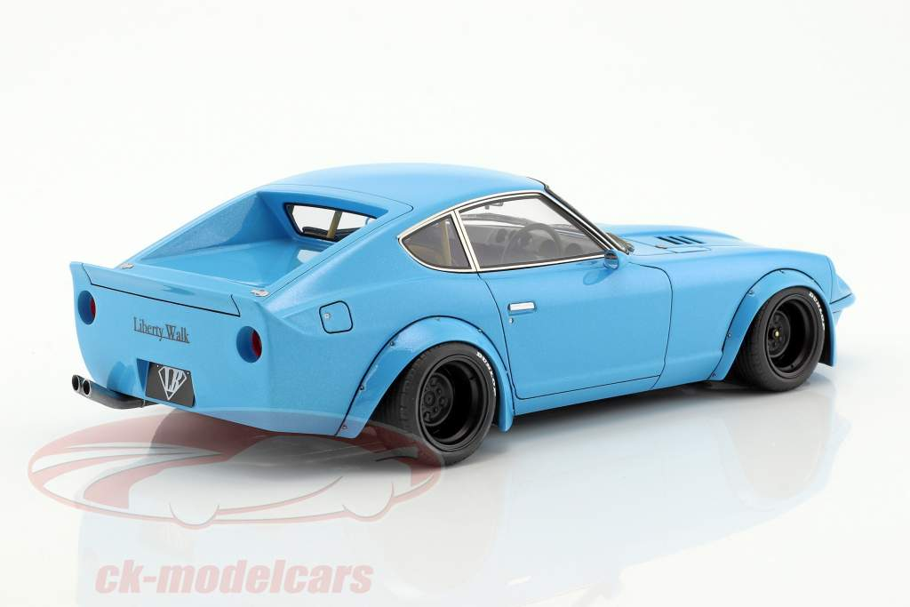 LB-Works Nissan Fairlady Z (S30) light blue 1:18 Ignition Model