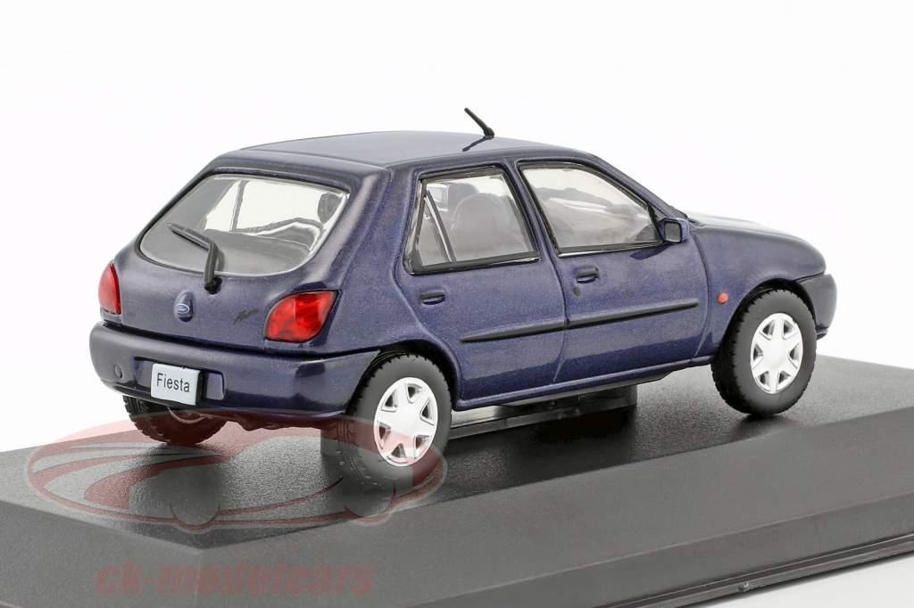 Ford Fiesta year 1996 blue metallic 1:43 WhiteBox