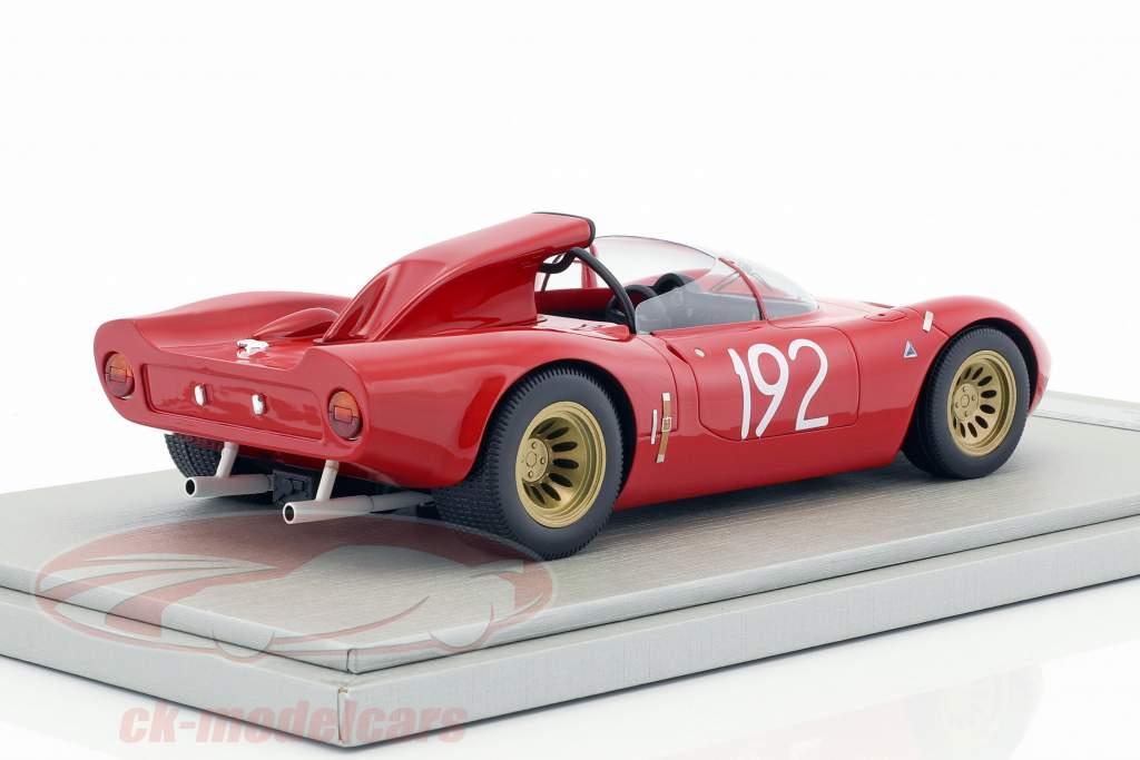 Alfa Romeo 33.2 Periscopio #192 Targa Florio 1967 Galli, Giunti 1:18 Tecnomodel