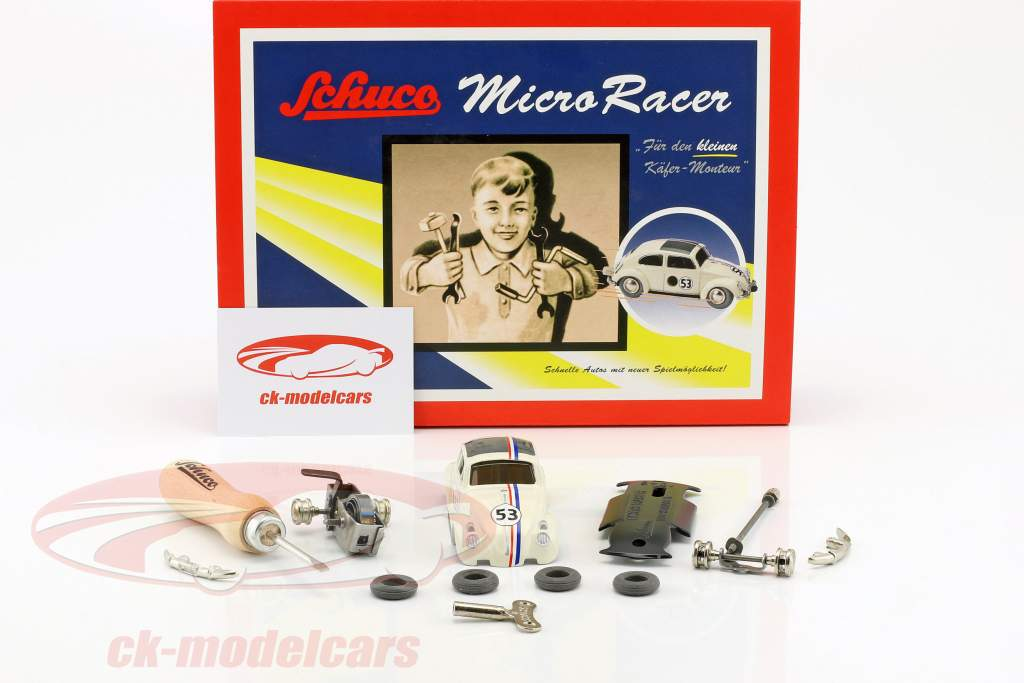 Mikro Racer Volkswagen VW Beetle #53 assembly case Schuco