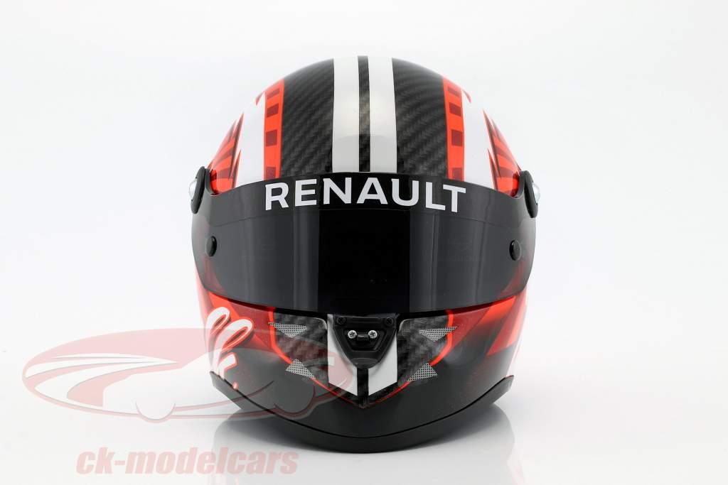 Nico Hülkenberg Renault R.S.17 formula 1 2017 casco 1:2 Schuberth