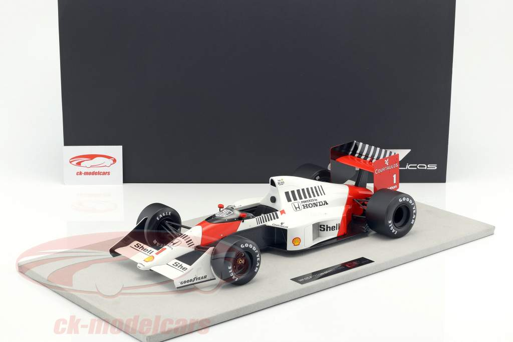 ck modelcars gp12 04a ayrton senna mclaren mp4 5 1 2 formule 1 1989 1 12 gp replicas ean. Black Bedroom Furniture Sets. Home Design Ideas