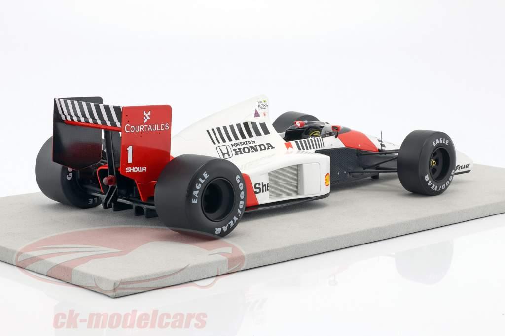 Ayrton Senna McLaren MP4/5 #1 2 formule 1 1989 1:12 GP Replicas