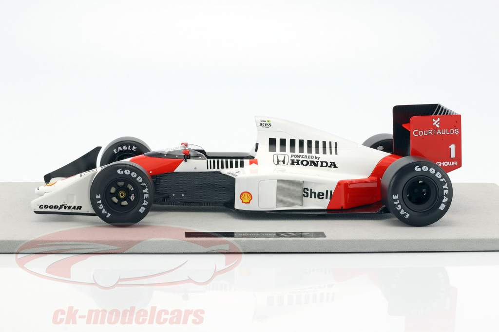 Ayrton Senna McLaren MP4/5 #1 2nd Formel 1 1989 1:12 GP Replicas