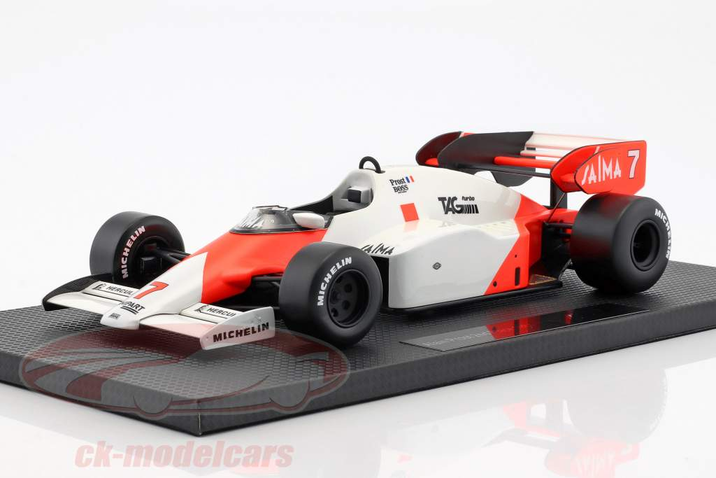 ck modelcars gp005b alain prost mclaren mp4 2 7 2 formule 1 1984 1 18 gp replicas ean. Black Bedroom Furniture Sets. Home Design Ideas