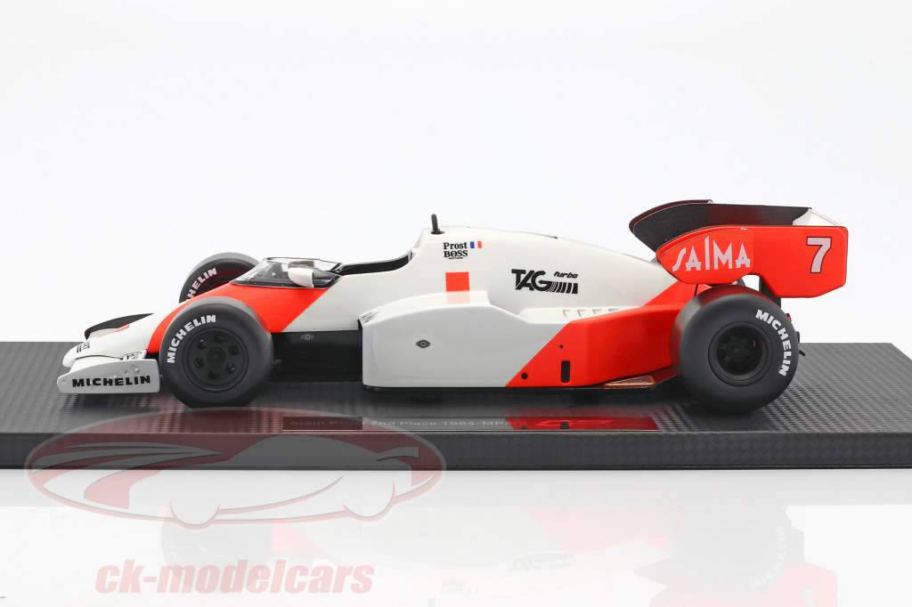 Alain Prost McLaren MP4/2 #7 2nd Formel 1 1984 1:18 GP Replicas