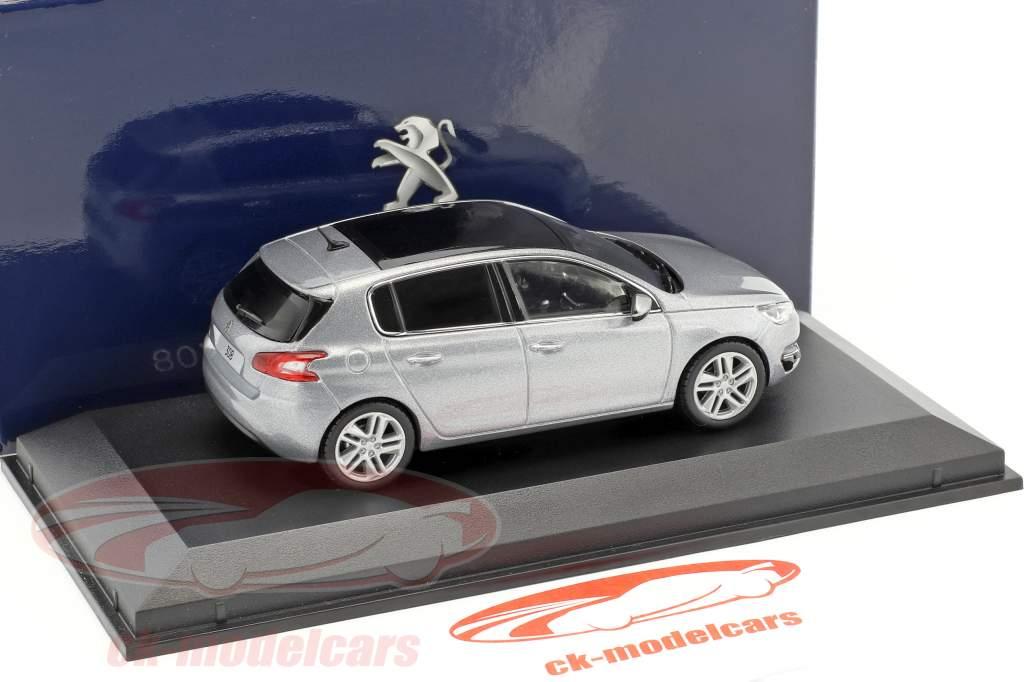 Peugeot 308 silver 1:43 Norev