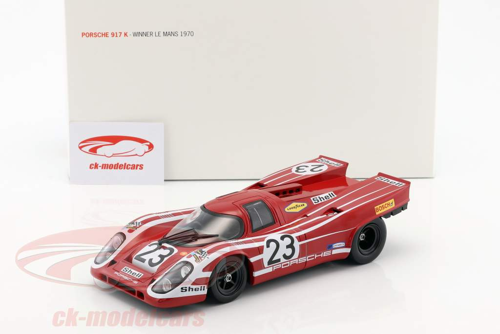 Porsche 917K #23 Winner 24h LeMans 1970 Herrmann / Attwood 1:18 Norev