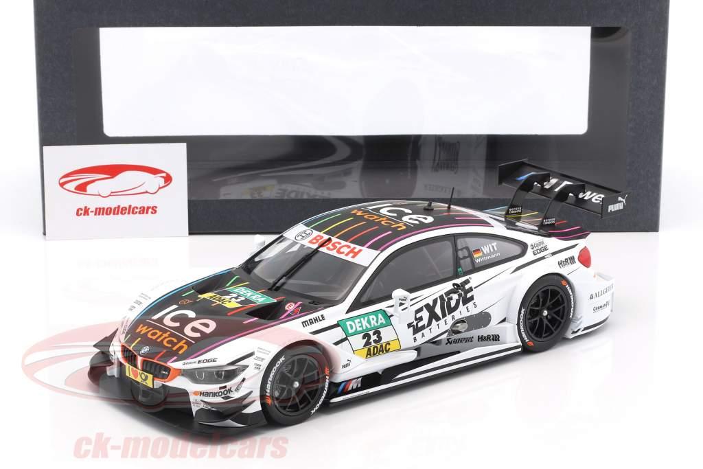 Marco Wittmann BMW M4 (F82) #23 DTM Champion 2014 Team-RMG 1:18 Norev