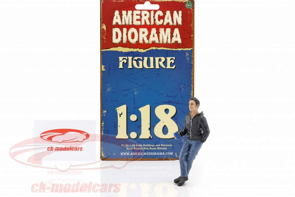 Hanging Out James Figur 1:18 American Diorama