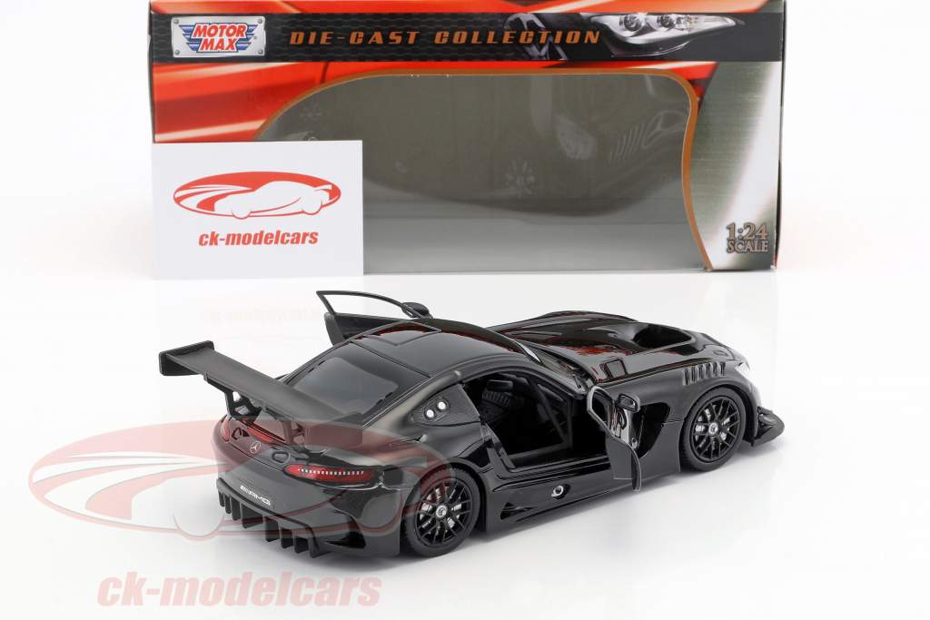 Mercedes-Benz AMG GT3 year 2016 black 1:24 MotorMax