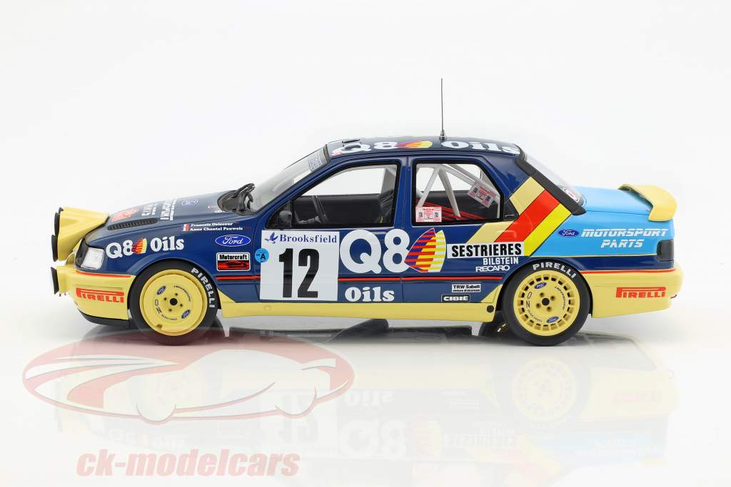 Ford Sierra 4x4 #12 Rallye Monte Carlo 1991 Delecour, Powels 1:18 OttOmobile