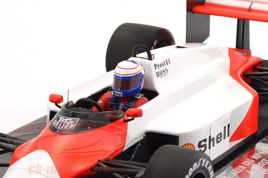 Alain Prost McLaren MP4/3 #1 Formel 1 1987 1:18 Minichamps