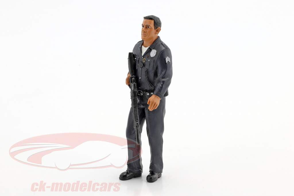 Police Officer I Figur 1:18 American Diorama