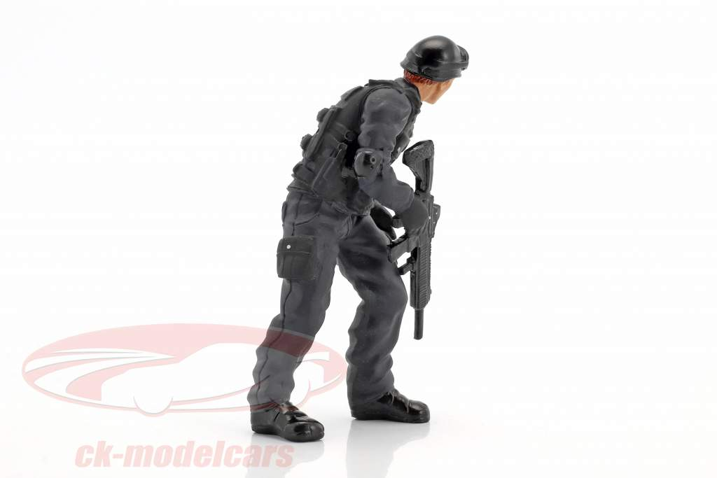 Swat Team fuciliere figura 1:18 American Diorama