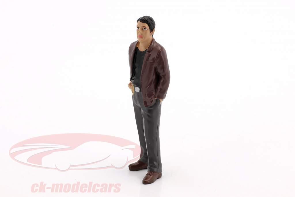 détective figure I 1:24 American Diorama